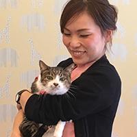 ワンちゃん、猫ちゃんの痛みや苦しみから少しでも助けるお手伝いをしたいです。